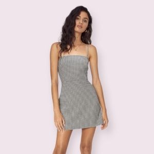 Wilfred Classic Isabelle Gingham Mini Dress